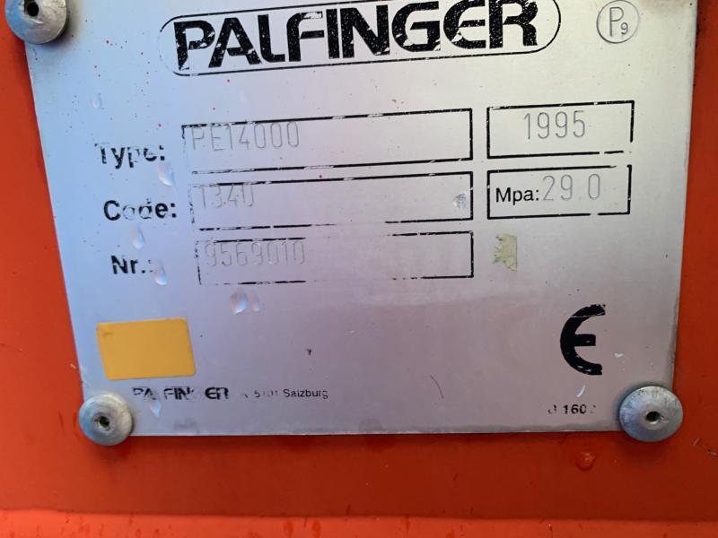 Autre PALFINGER GRUE PALFINGER PE14000