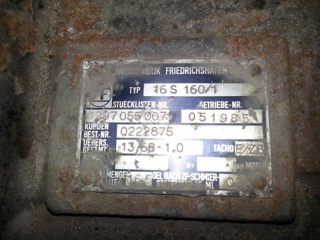 Boite de vitesse DAF 95 BOITE DE VITESSES