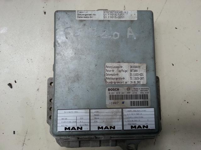 Occasion Electricite MAN 19.463 / BOITIER ECU MOTEUR/0281001347/51.11615-7117