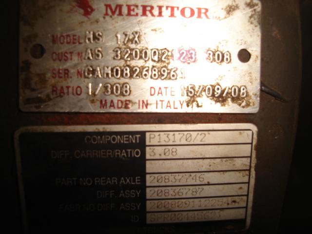 Pont Renault P 450 DXI / NEZ DE PONT