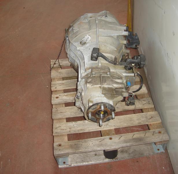 Boite de vitesse Renault MAXITY      120DXI