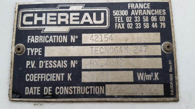 Occasion Chereau TECNOGAM 247
