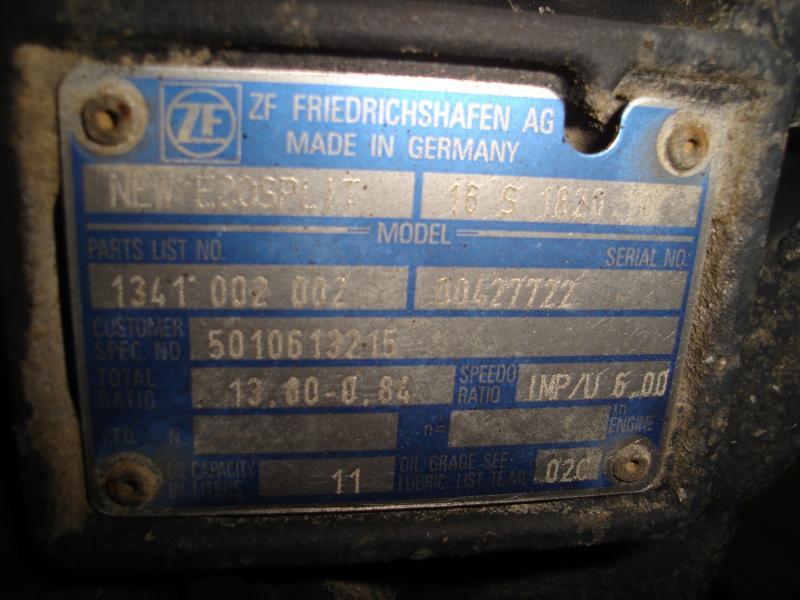 RenaultP410DXI 16s1820to 1341002002