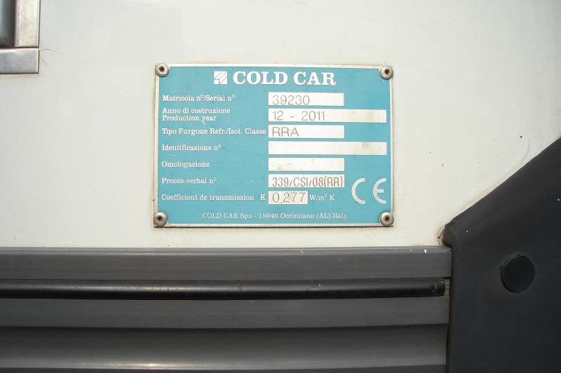 Carrosserie COLD CARE CAISSE FRIGO COLD CARE