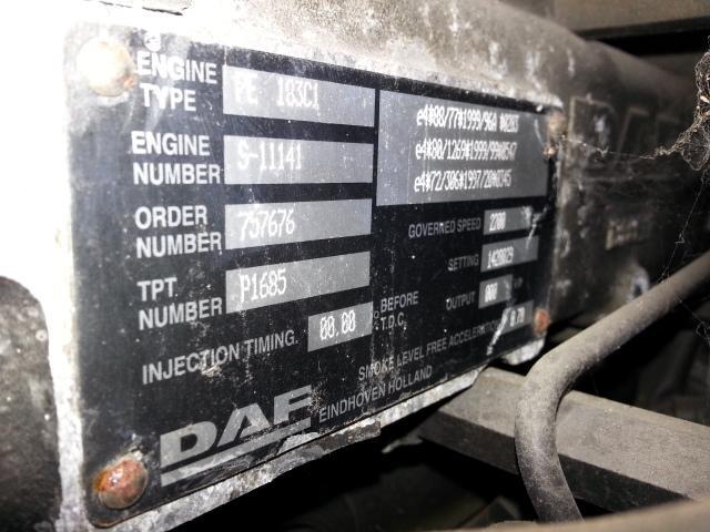 Moteur DAF MOTEUR DAF CF 75 / 250 / PE183C1/ 757676