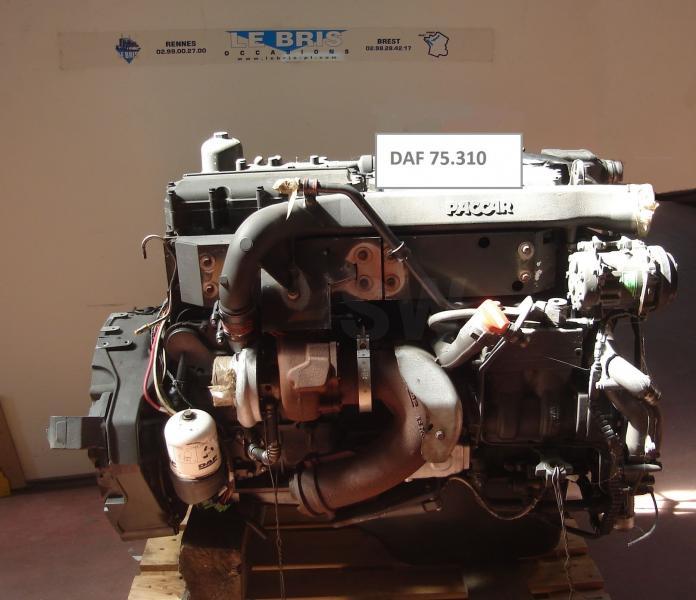 Occasion Moteur DAF MOTEUR DAF 75.310  PACCAR TYPE PR183/228 KW