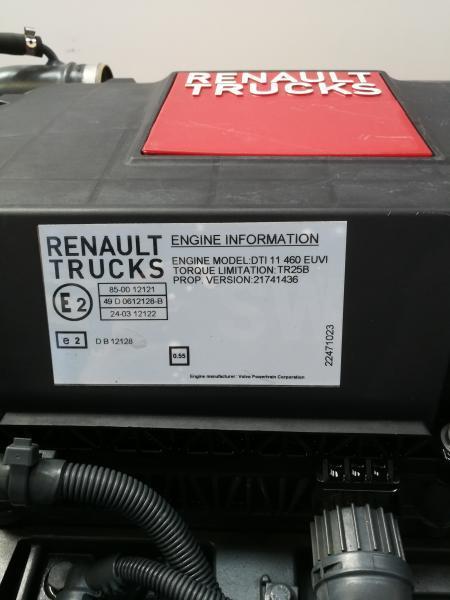 Moteur Renault MOTEUR RENAULT T460
