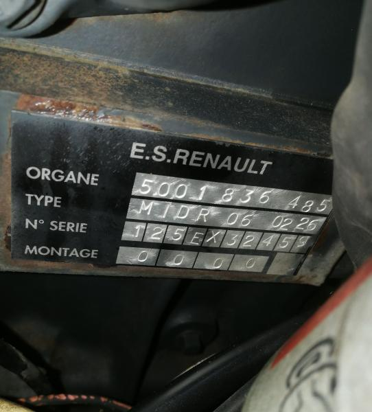 Moteur Renault MOTEUR RENAULT P250