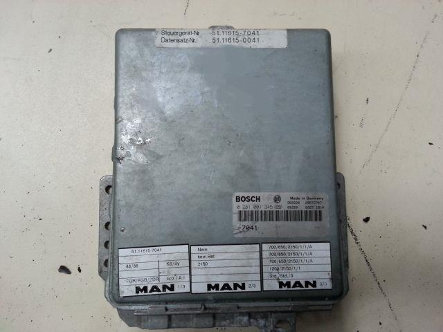 Occasion Electricite MAN 19.433/ BOITIER ECU MOTEUR / 51116157041/51116150041/0281001345