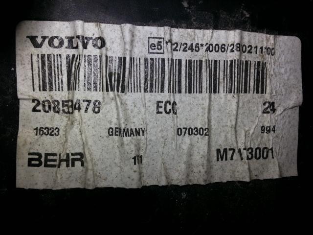 Autre VOLVO FH13 / 440 / BLOC CHAUFFAGE COMPLET 20853478