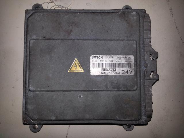 Occasion Electricite Renault AE 480 / BOITIER ECU MOTEUR 0281010481/5010437363