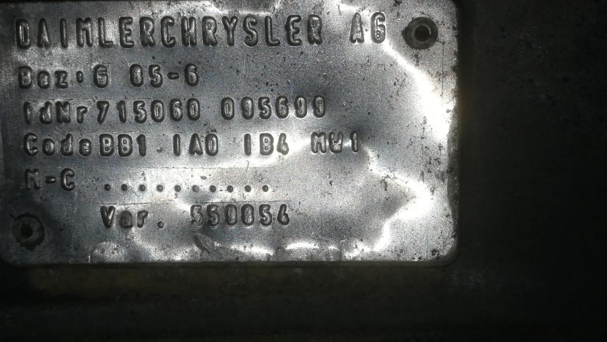 Boite de vitesse Mercedes BOITE DE VITESSES MERCEDES ATEGO 923