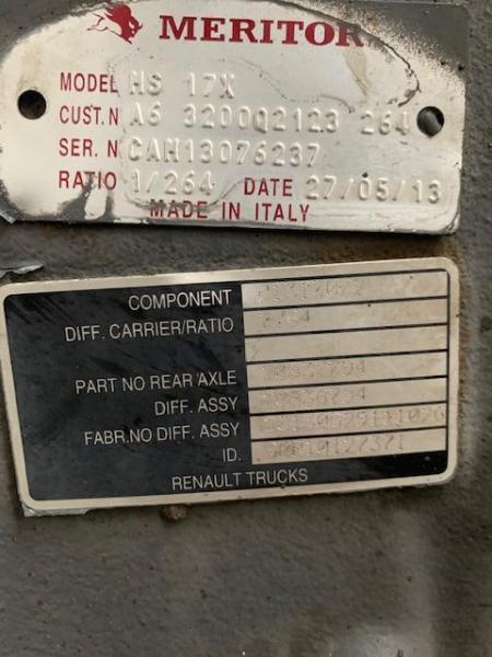 Pont Renault NEZ DE PONT RENAULT PREMIUM 380 DXI